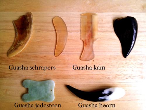 Guasha tools