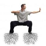 Wortelen is essentieel voor een goede kungfu en balans in je lichaam.
