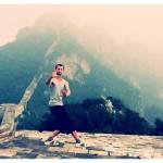 Baguahouding op de Chinese muur