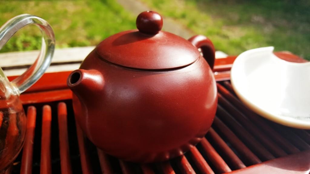 clay Yixing teapot